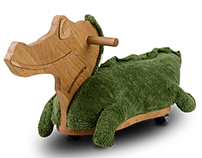 Ride on toy - crocodile Karim