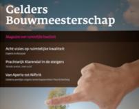Gelders Bouwmeesterschap | magazine & website