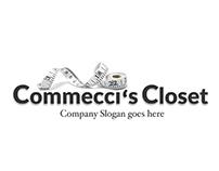 Commeci's Closet Logo