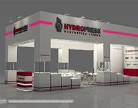 Exhibition stand design - Hydropress