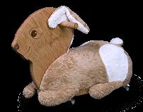 ride on toy - bunny Hanna