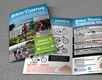 Bikin'Cyprus Adventures Flyer Design