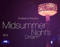 оформление фестиваля Midsummer Night's Dream 2012