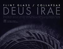 Flint Glass / Collapsar - Deus Irae Flyer