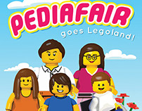 Lego-themed Poster for Pedia Fair at PGH