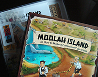 MOOLAH ISLAND board game