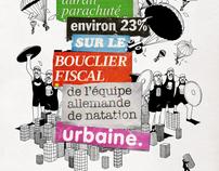 """Print ads """"Le journal du Dimanche"""""""