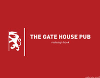 The Gate House Pub | redesign book