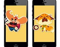 Social messenger stickers