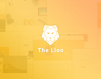 The Lion - Multi-Purpose PSD Template