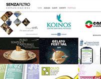 Senza Filtro new web site