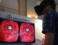 Bloodstream virtual ride with Oculus Rift DK2