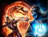 Mortal Kombat Ad Campaign