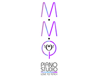 MMQ PIANO STUDIO LOGO WORK