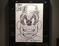 Drawn Autographs - EXHIBITION - FIBDA 2014
