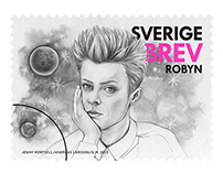 SWEDISH STAMPS - MUSIKUNDRET