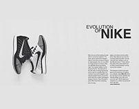Sneaker magazine design