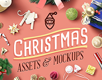 Christmas Assets & Mock Up Pack