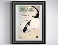 Cartel de Vino premio Envero 2011