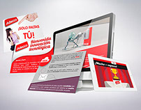 Email marketing y comunicados de Adecco