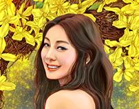 Forsythia / Yuna Kim