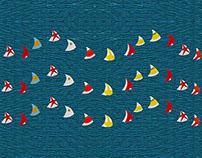 Spi & Boats - Pillows