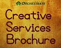 Creative Services Brochure