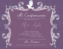 Invitación CONFIRMACIÓN