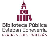Identidad institucional - Biblioteca Esteban Echeverría