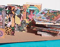 Caipirinha Samba postcards - personal project