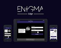Enigma Liège | Application et site web
