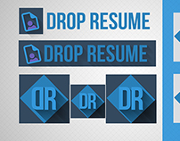 Drop Resume Logo