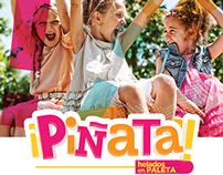 Piñata · Helados en paleta