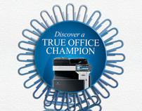 Konica Minolta MFD Office Campaign