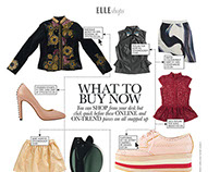 What To Buy Now: ELLE Magazine SA, April 2013