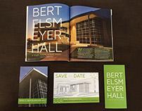 Bertelsmeyer Hall Dedication Collateral
