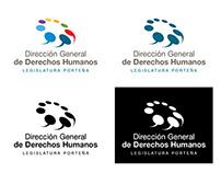 Identidad institucional - Dirección General de DDHH