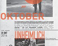 Halloween DaDA Poster