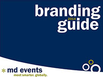 Branding Guide: MD Events
