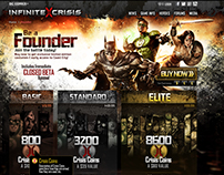 Infinite Crisis Founders Points Page