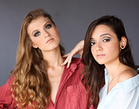 Paula e Marcelha - Portfólio