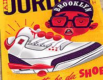 Air Jordan III art print