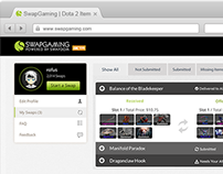 SwapGaming UI & UX Concept