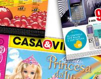 Anúncios de Jornal e Encartes