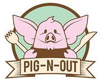 Pig-N-Out Food Truck Branding