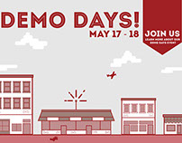Demo Days Ad Campaign