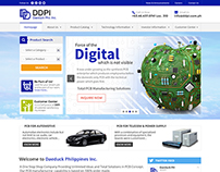 Daeduck Phil. Inc. Corporate Website