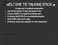 The Talking Stick App