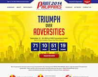 Print Philippines 2014 Event Website