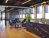 Wall Street Office by STUDIOMINT